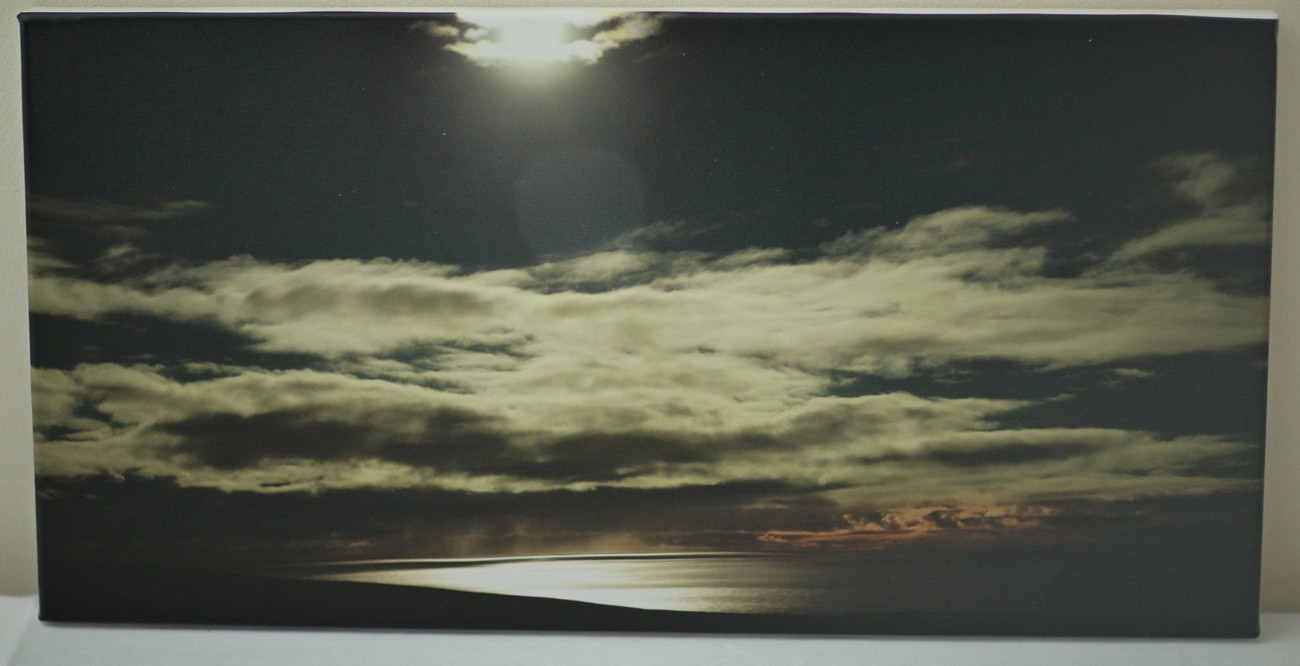 Marwick Bay in Moonlight 20 x 10 inches £70