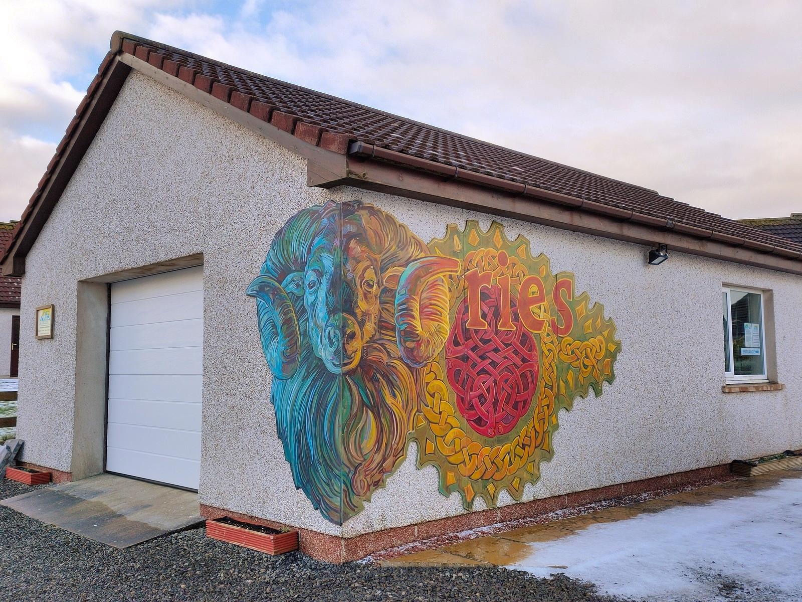 Aries Gallery Mural 3
