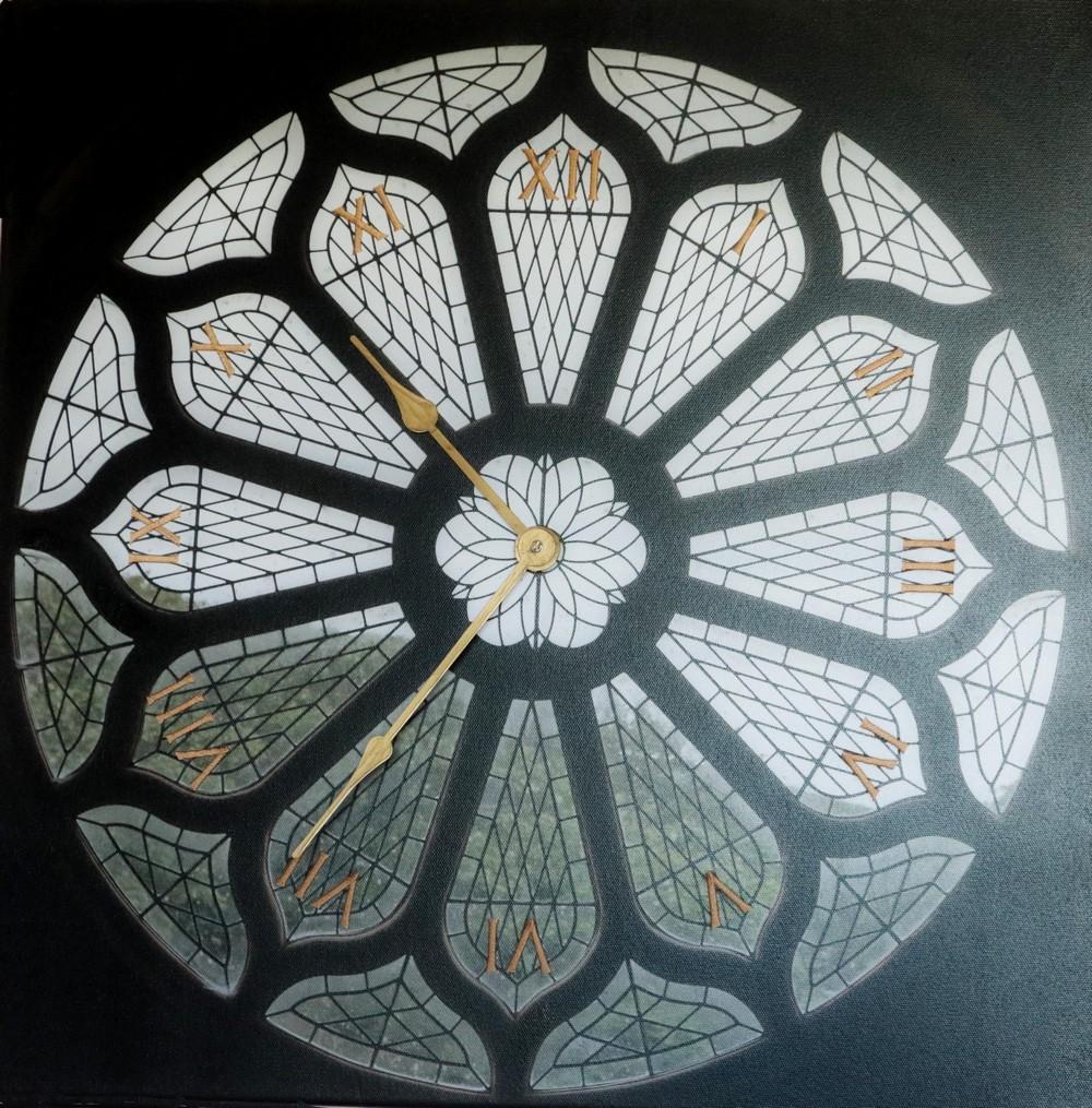 St Magnus Rose Window Clock