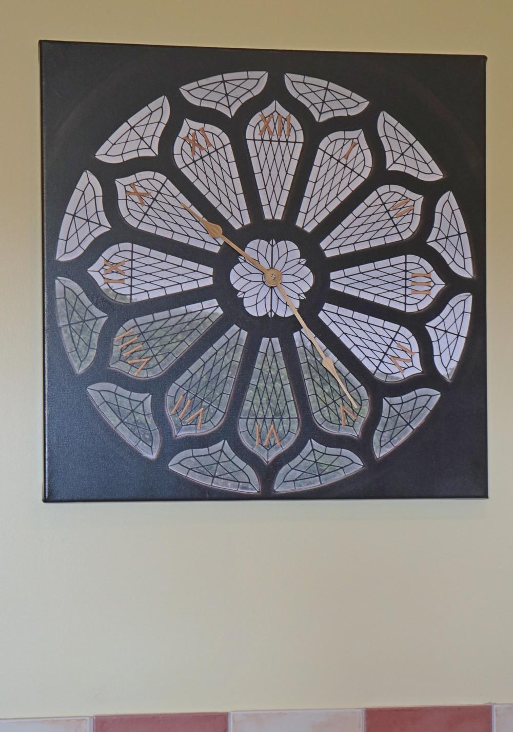 St Magnus Cathedral Rose Window Clock