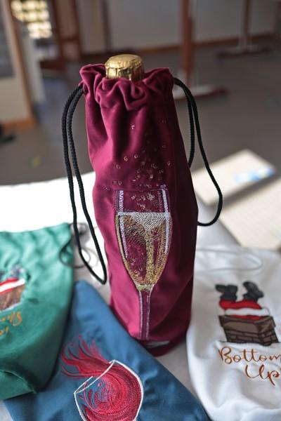Velvet Bottle Bag